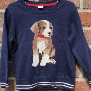 Janie and Jack Puppy Dog Sweater